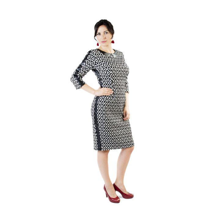 sukienka-codzienna-bialo-czarna-kama1