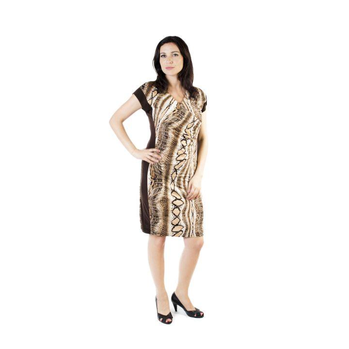 sukienka-codzienna-brazowa-dalia-1