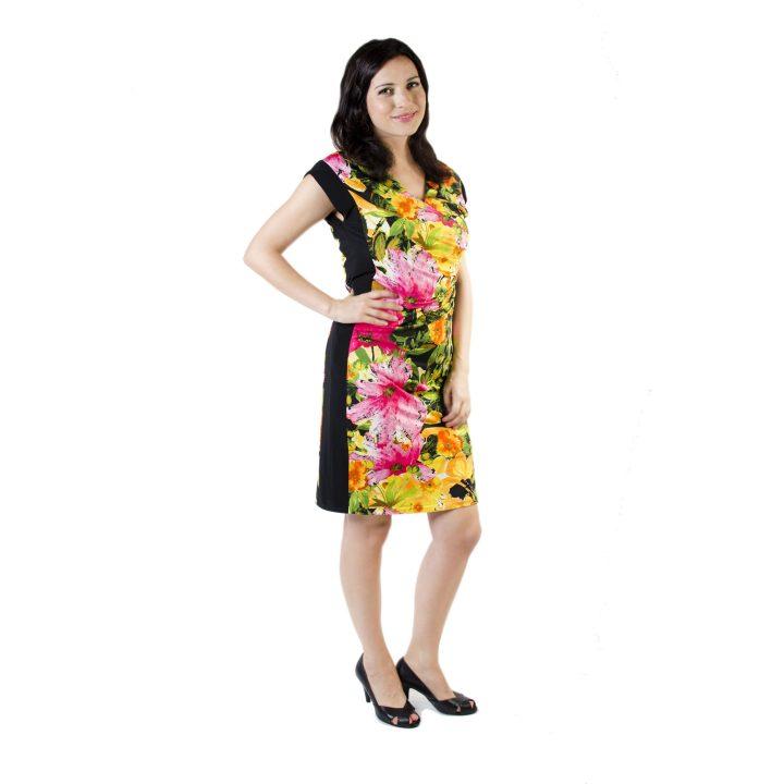 sukienka-codzienna-czarna-kwiaty-dalia-1