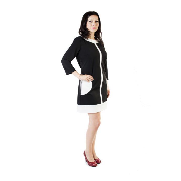 sukienka-codzienna-czarno-biala-wenecja-1