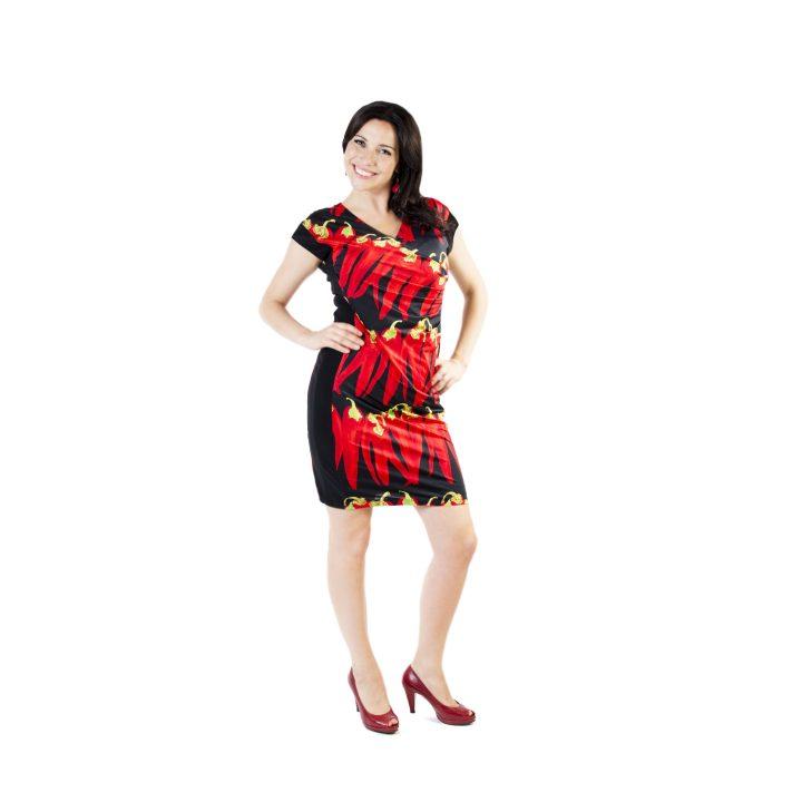 sukienka-codzienna-czerwona-dalia-1
