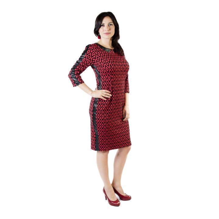 sukienka-codzienna-czerwono-czarna-kama1