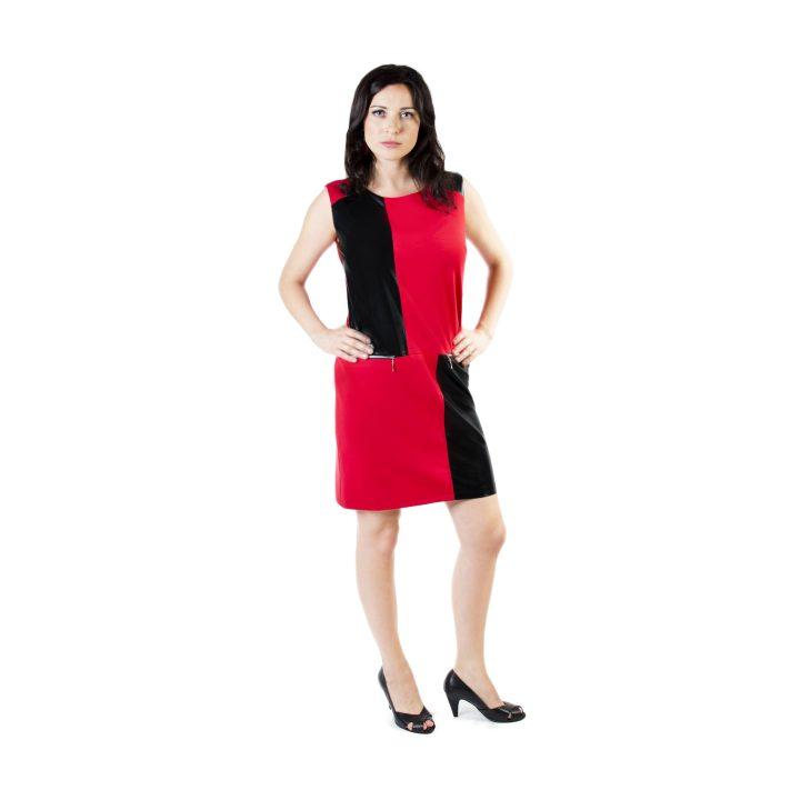 sukienka-codzienna-czerwono-czarna-maja1
