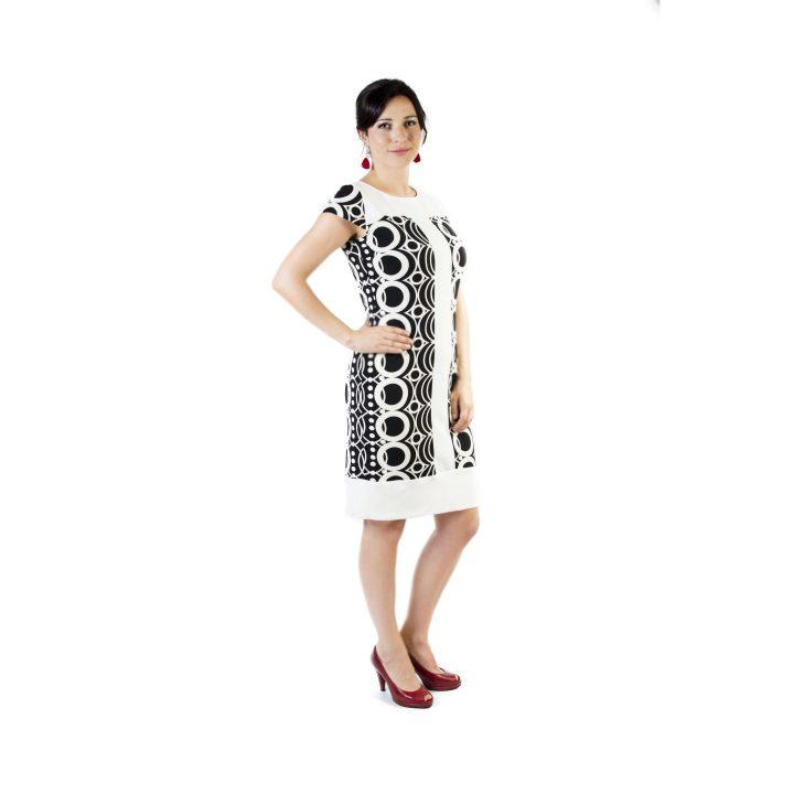 sukienka-koktajlowa-bialo-czarna-kamelia1