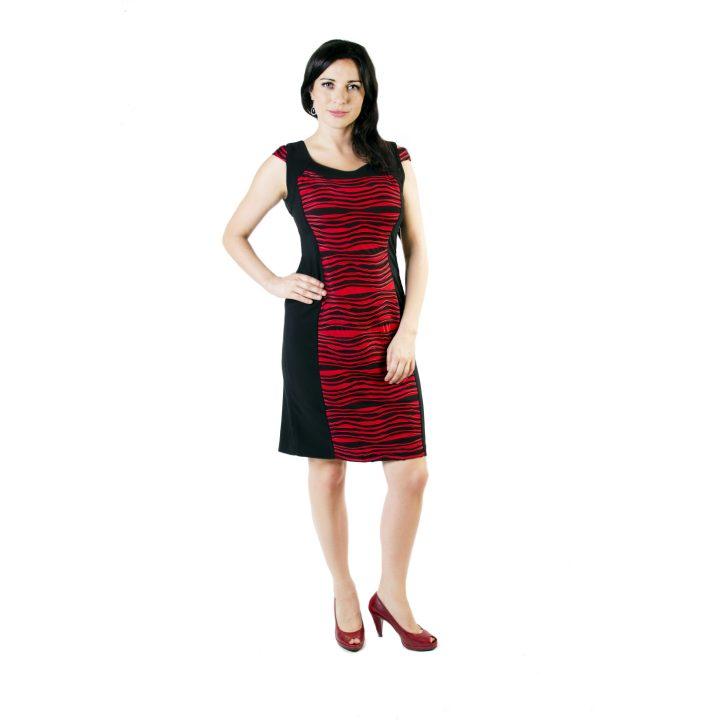 sukienka-koktajlowa-czarno-czerwona-zara-1