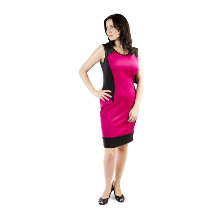 sukienka-koktajlowa-malinowo-czarna-carmen-1