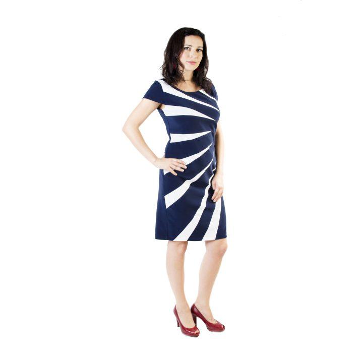 sukienka-wizytowa-granatowo-biala-julia1