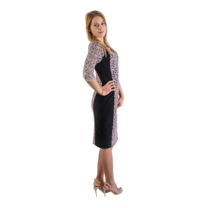 sukienka-wizytowa-rozowo-czarna-sandra-1